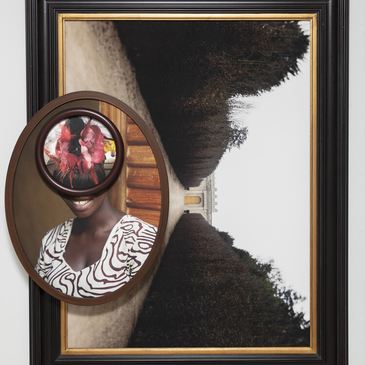 Multiple photographs in individual frames composited together