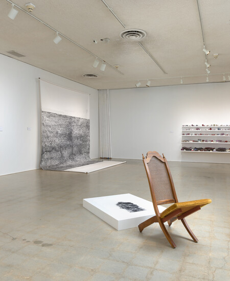 Installation view of R.S.V.P. Los Angeles: The Project Series at Pomona at the Pomona College Museum of Art on view fall 2015