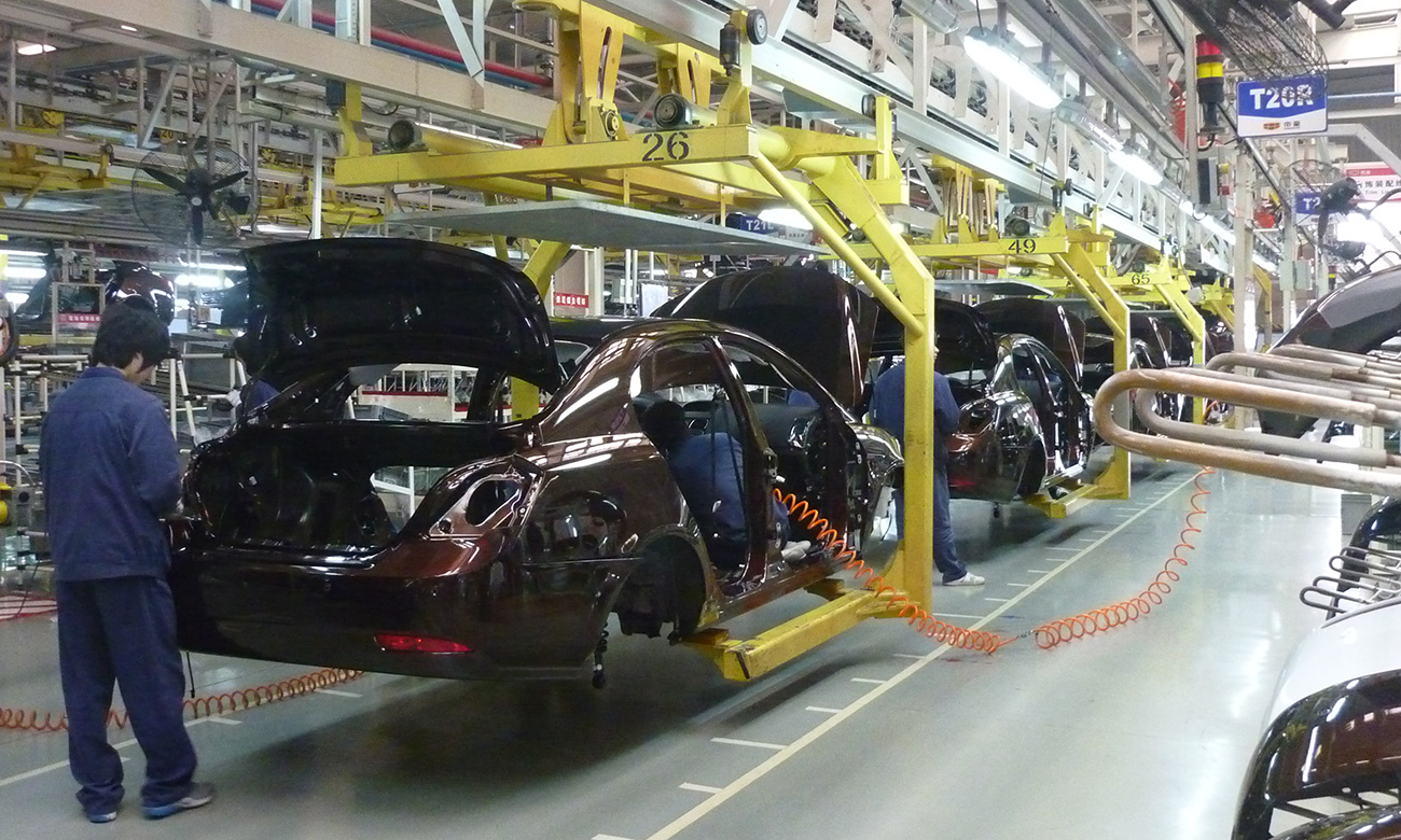 an overview of the advanced manufacturing and industry in china