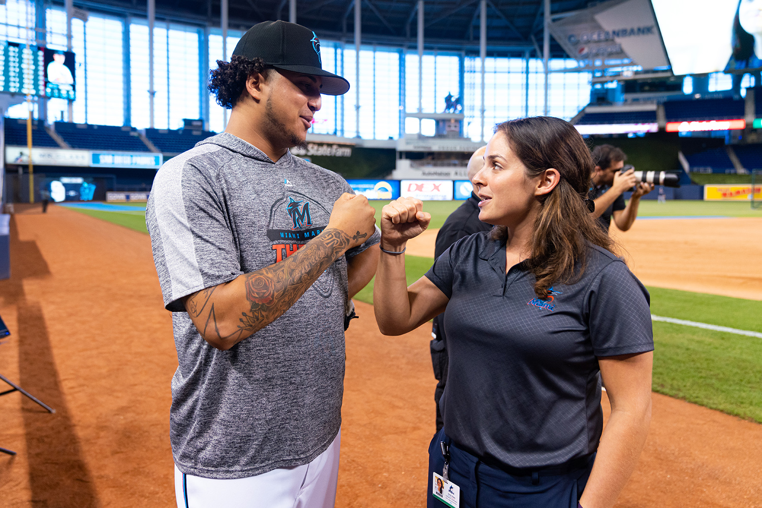 In her job as education coordinator for the Miami Marlins, Emily Glass '15 directs a program that not only teaches Spanish-speaking...