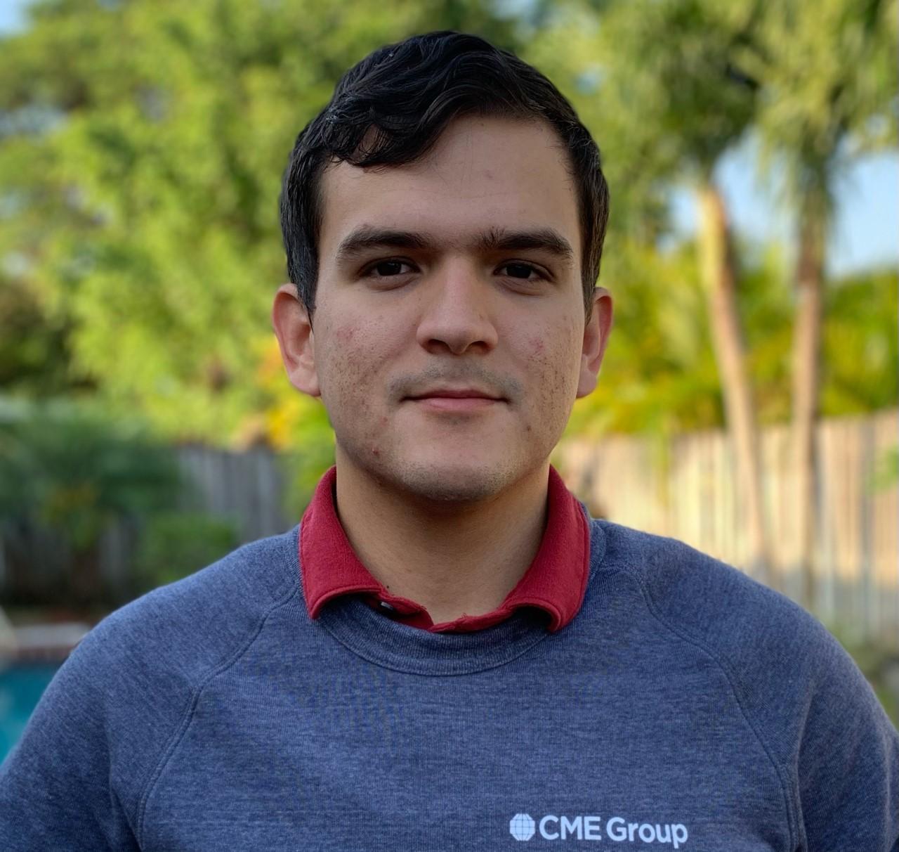 Graduating senior ITS student worker, Marcel Alfonso Garcia