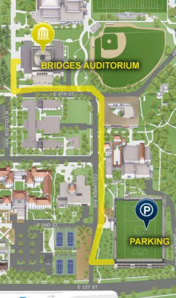 Bridges Parking Map