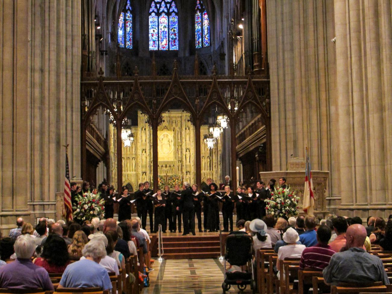 Pomona College Glee Club 2019 Washington National Cathedral