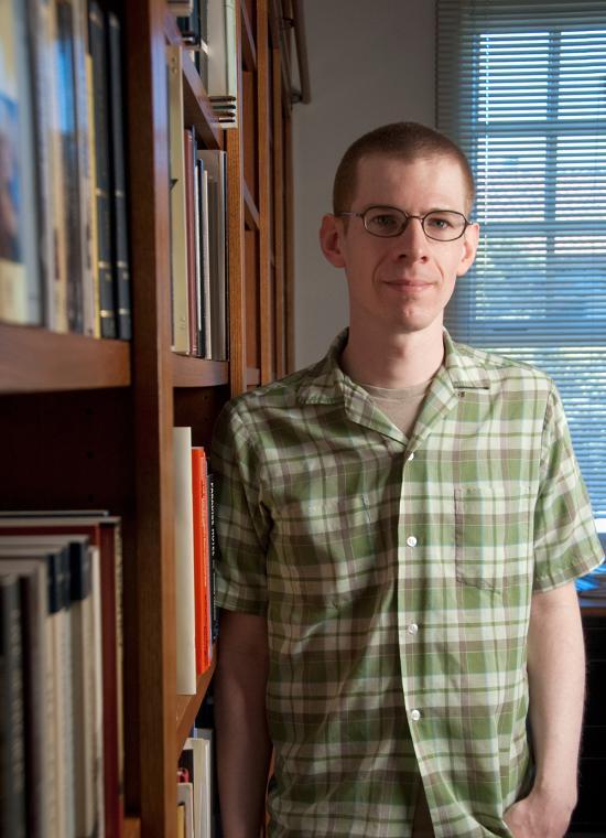 Aaron Kunin, professor of English at Pomona College