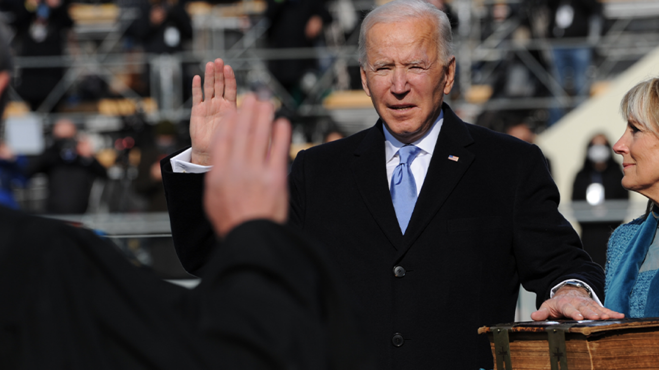 President BIden Oath of Office