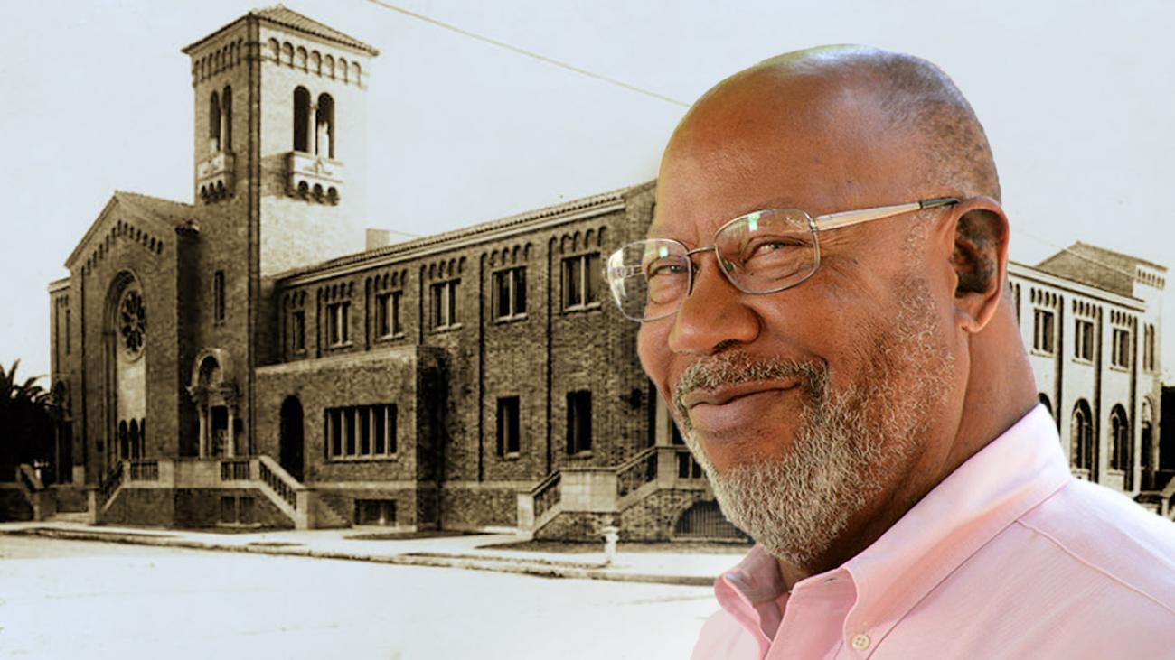 Emeritus Professor of Politics Lorn S. Foster is an expert on the Black church in L.A. Second Baptist Church (pictured) is among the first.