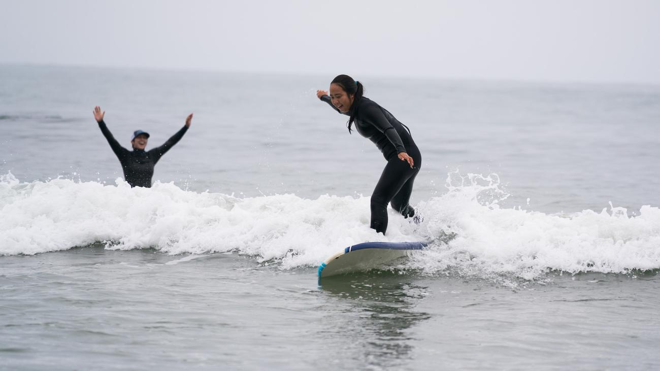 Learn to surf... no previous experience necessary!