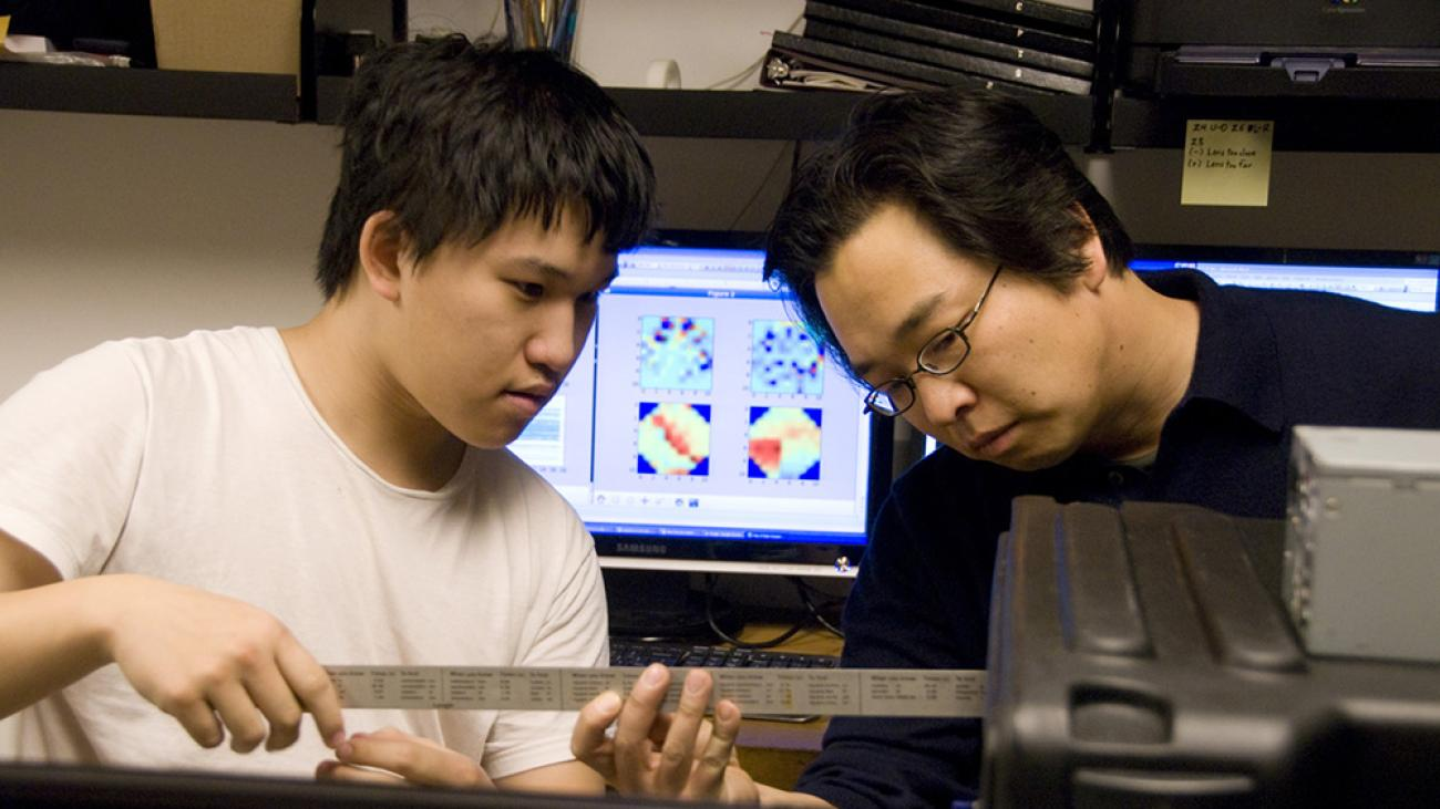 Adaptive optics research with Professor Philip Choi
